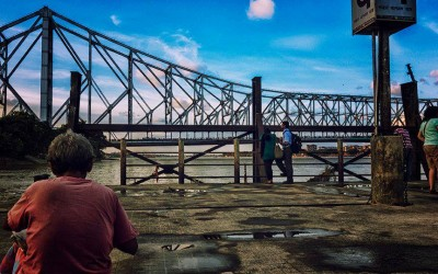 'The Howrah Bridge over the Hooghly River in West Bengal' by Sankar Sengupta, India