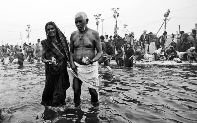 'Kumbh Mela' by Yael Gadot, India, 2013