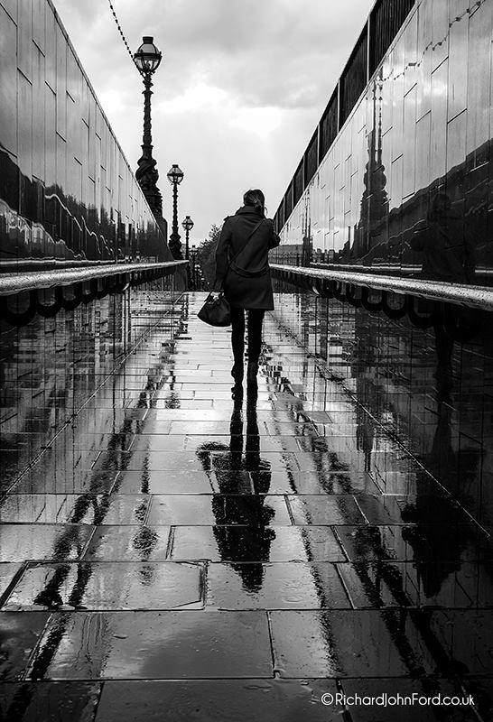Rain reflections by richard ford uk