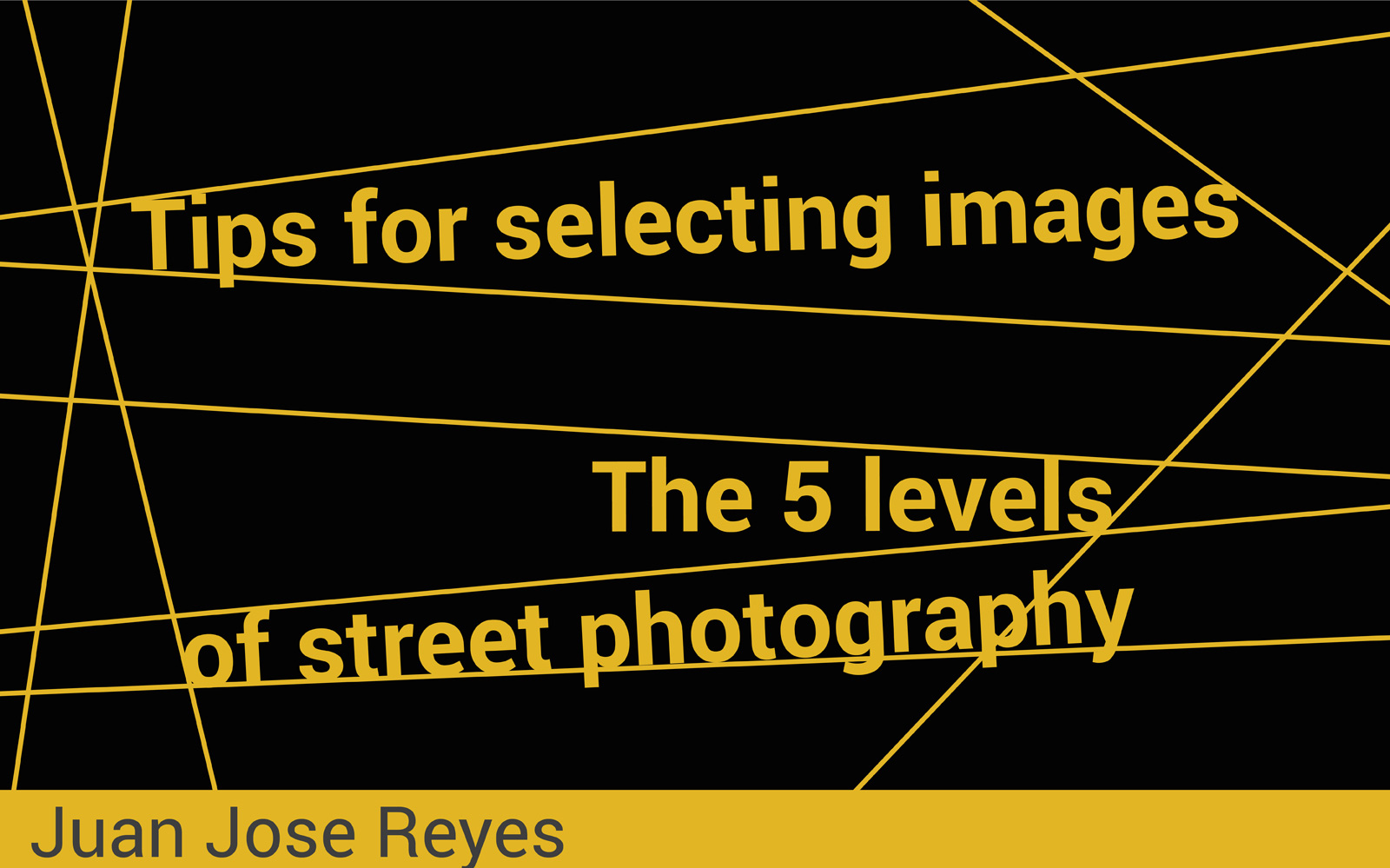 Street Photography Tips | The five levels