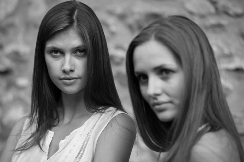 Lucie Pustova and Klara Jozakova. © Adam Marelli