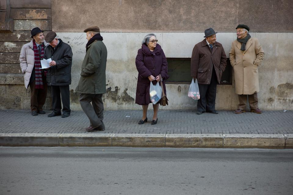12 Bus Stop. Matera, Italy. Adam Marelli