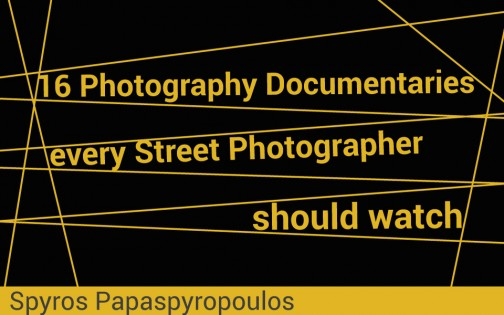 Why Street Photography is not Documentary Photography | SVP