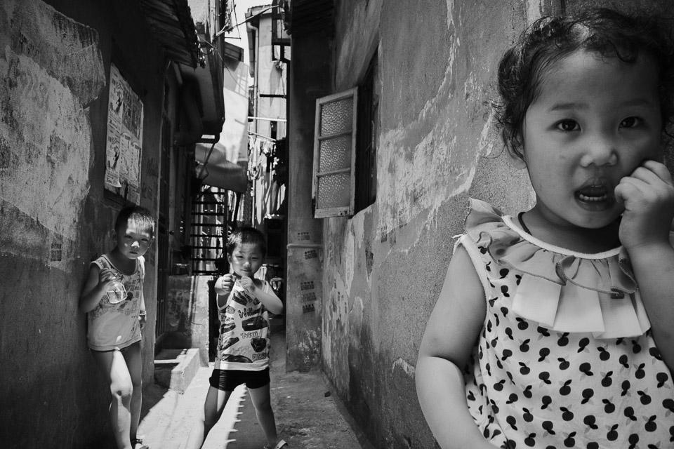 Kids in Alley