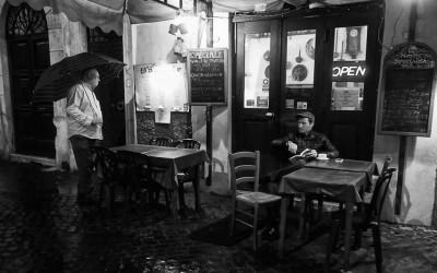 'One last coffee' by Giuseppe Grimaldi, Rome, Italy