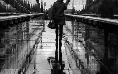 'Rain Reflections' by Richard Ford, UK