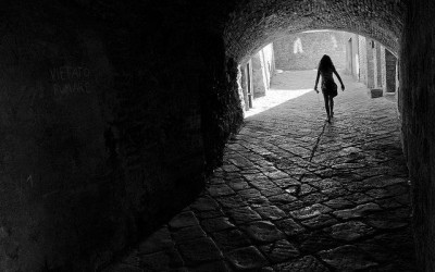 by Stefano Simon, Volterra,Vicolo, Italy
