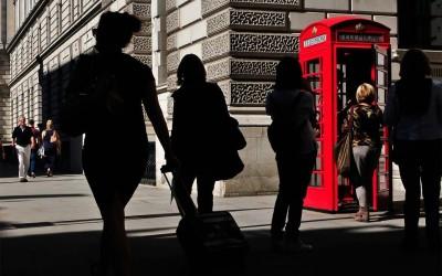 'Londoner tourists' by Agnes Christina, London, UK