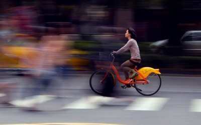 'Biking around' by May Lee (廖藹淳), Taipei, Taiwan