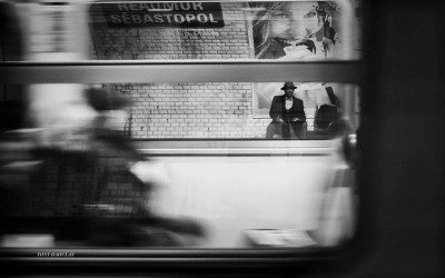 'Isolation' by Tony Daoulas Photographie, Underground, Paris, France, 2013