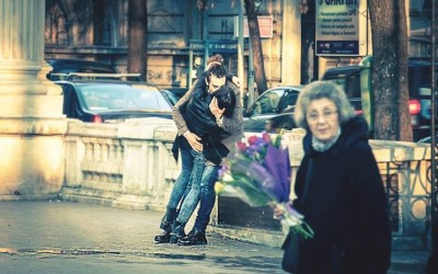 'Modern day Romeo' by Radu Patrascu, Bucharest, Romania, February 2012